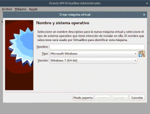 Virtualización con VirtualBox en Linux Mint, Ubuntu, etc. Crear una máquina virtual.