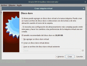 Virtualización con VirtualBox en Linux Mint, Ubuntu, etc. Crear una máquina virtual. Disco duro,